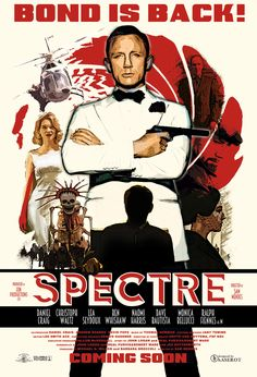 * m. Spectre poster art by Haserot.