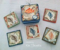 By the Tide 3x3 card box by kfromkin - Cards and Paper Crafts at Splitcoaststampers