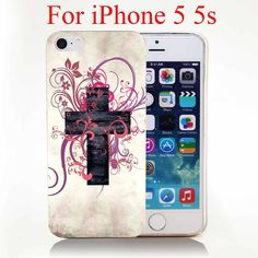 Christian Cross Hard Cover Case for iPhone 4 4s 5 5s 5c 6 6s Protect Phone Cases