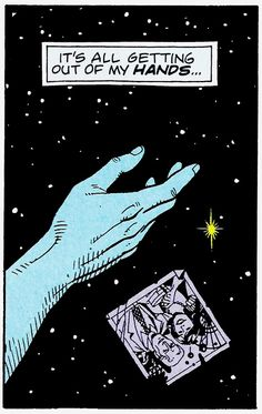 """Watchmen 4 (December 1986) - """"Watchmaker"""" - Art by Dave Gibbons - Words by Alan Moore"""