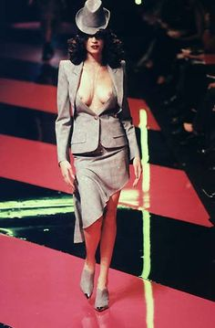 McQueen at Givenchy show -1998 -