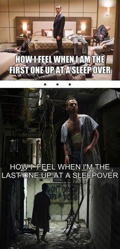 Sleep over feelings