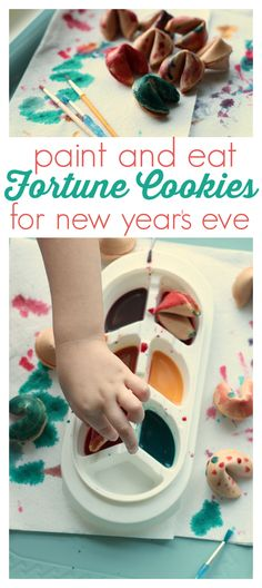 What a fun idea for New Year's Eve. Kids will love this easy activity.