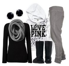 it, my favorite type of outfit :) lazy day outfits, casual out Lazy Day Outfits, Casual Outfits, Cute Outfits, Pink Outfits, Casual Boots, School Outfits, Casual Wear, Look Fashion, Teen Fashion