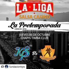 #Repost @fundacionkps Este jueves es la cosa! #kps #familiakps #losdeazul #salsacasino #salsacasinovenezuela