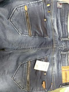 Denim Pants, Trousers, Patterned Jeans, Denim Fashion, Casual Shirts, Emboss, Fendi, Pocket, Image
