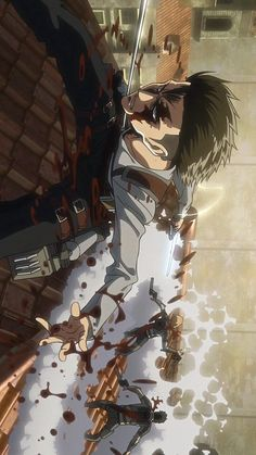 wallpapers ereri ~ wallpapers ereri _ shingeki no kyojin wallpapers ereri Me Anime, Fanarts Anime, Anime Kawaii, Anime Love, Anime Characters, Manga Anime, Anime Art, Levi X Eren, Levi Ackerman