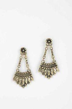 Indi Metal Drop Earring - Urban Outfitters