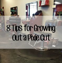 In case I ever decide to go back! :P >1/18/14 . . . 8 Tips for Growing Out a Pixie Cut