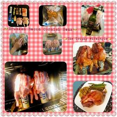 beer can cornish hens