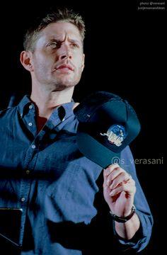 "justjensenanddean: "" Jensen Ackles | Honolulu Con 2017 [credits: s_verasani | x ] """