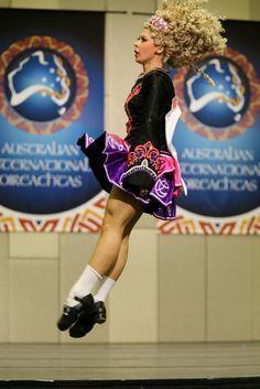 Irish Dance: Australian International Oireachtas 2014 Irish Step Dancing, Irish Dance, Dance Costumes, Gymnastics, Physics, Diva, Poses, Style, Fitness