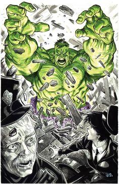 #Hulk #Fan #Art. (Hulk Commission)(Penciller) By: Diogenes Neves.