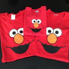 Cumpleaños de Elmo camisas camisa de elmo Elmo elmo adulto