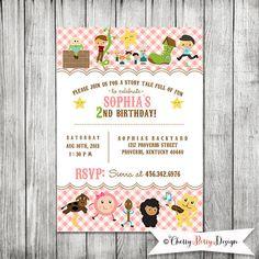 Nursery Rhymes Birthday Card