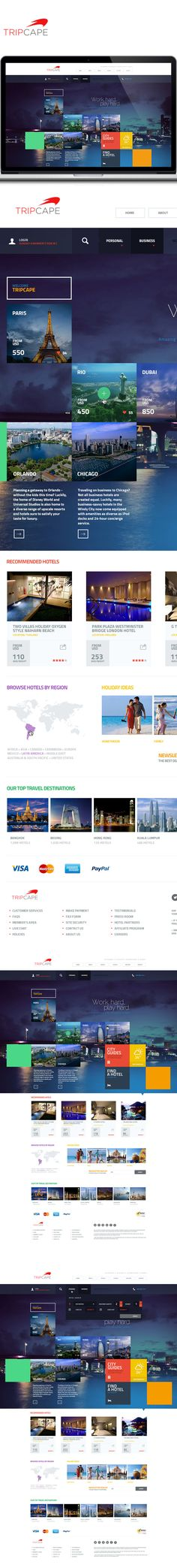 Tripcape on Behance