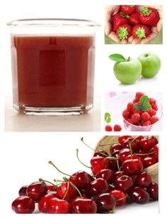Day5 Juice cleanse  4 cups cherries 2 cups raspberries 2 cups strawberries 2 green apples #cleanse #juice Raspberries, Cherries, Strawberries, Juice Diet, Juice Cleanse, Thing 1, Green Goddess, Green Smoothies, Juicing