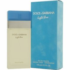 One of my favorites. Dolce and Gabbana Light Blue