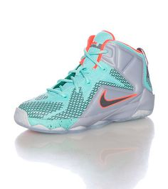 best sneakers 1da2c 51a9b NIKE Lebron James Brand new design Mid top children s sneaker Lace up closure  NIKE swoosh on sides Mesh for ventilation Cushioned inner sole for comfort