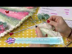 Battaniye Yapımı - Derya'nın Dünyası - 10 Şubat 2015 - YouTube Chrochet, Knit Crochet, Crochet Hats, Crochet Videos, Crochet Fashion, New Pins, Baby Shower, Blanket, Knitting