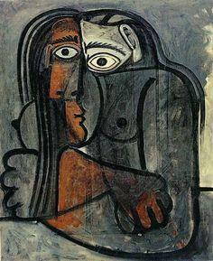 Pablo Picasso – Nu, les bras croisés, 1960