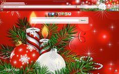 Glowing Christmas Eve Chrome Theme Brand Thunder