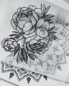 Inspiration by Find Sasha's tattoo projects under Future Tattoos, Tattoos For Guys, Tattoos For Women, Cool Tattoos, Realistic Tattoo Sleeve, Leg Sleeve Tattoo, Floral Tattoo Design, Tattoo Designs, Flor Tattoo