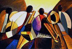 Artist Harlem Renaissance Art | November Artist of the Month: Joseph Holston - WetCanvas