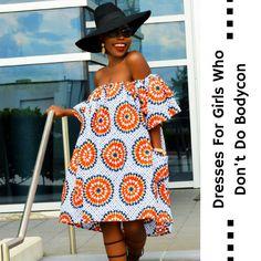 Ankara Dresses For Girls Who Don't Do Bodycon