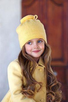 Russian child model Milana Kurnikova. Russian beauty. Russian girls