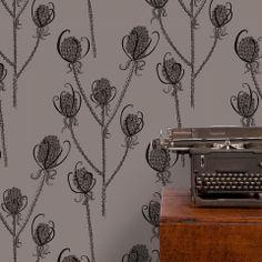 Reenie Teasel Wallpaper – IN-SPACES