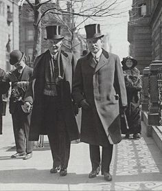 John D. Rockefeller (1839-1937) with his only son, John D. Rockefeller, Jr. circa 1920  Rockefeller, Sr. is frequently listed as the richest man in history (depending on which list you look at) in company with the likes of Andrew Carnegie, Tsar Nicholas II and William the Conqueror.  http://www.businessinsider.com/richest-people-in-history-2010-8#1-john-d-rockefeller-20