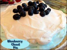 Blueberry Cloud Pie  http://www.momspantrykitchen.com/blueberry-cloud-pie.html