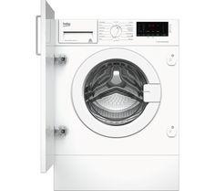 Beko Pro Wix765450 Integrated 7 Kg 1600 Spin Washing Machine Integrated Washing Machines Washing Machine Beko