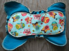 Fitted flannel cloth diaper baby toddler owls nature gender neutral one size fits all OS Upcycled Recycled Repurposed solar made. $10.35, via Etsy.