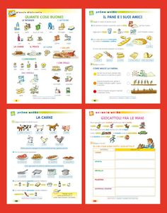 Italian Vocabulary, Italian Language, Learning Italian, Kids And Parenting, Carne, Back To School, Journal, Speech Language Therapy, Learning