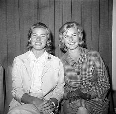 Ingrid Bergman and her daughter Pia Lindstrom