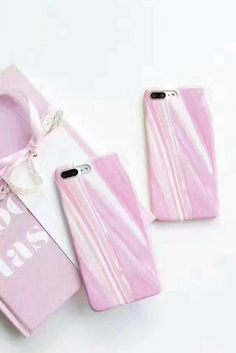 pink marble iphone 6, iphone 6 plus, iphone 7 & iphone 7 plus protective Case For cute girls