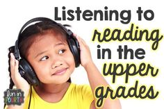 The benefits of listening to reading with older students and a freebie response sheet.