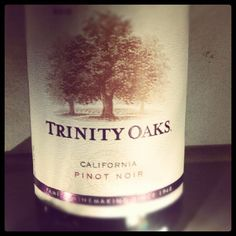 Found a nice, inexpensive California Pinot Noir - finally! Once you get past the cartoon-ish purple tint, the taste is not bad for a $6.99 wine .... found at Trader Joe's.