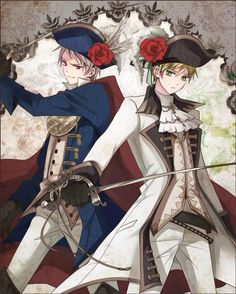 Prussia and England