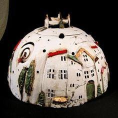 always an idea - Firchau … immer eine Idee – Firchau … always an idea – - Pottery Houses, Ceramic Houses, Ceramic Pottery, Ceramic Art, Diy Art, Garden Art, Garden Design, Sculpture Romaine, Old Wall