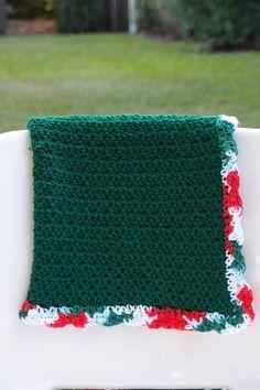 Crochet Baby Blanket  Christmas Carols by TheKnittedNursery, $45.00