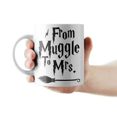 From Muggle To Mrs. lánybúcsú bögre