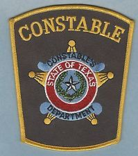 TEXAS STATE CONSTABLE POLICE PATCH