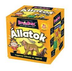 Brainbox - Állatok - 8 éves kortól - Egyszerbolt Társasjáték Webáruház