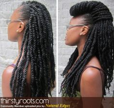 Kinky twists - YES, YES!!!
