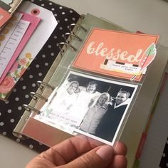 Pocket Pages for your Carpe Diem Planner - Scrapbook.com