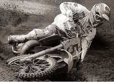 Ricky Johnson Motocross Riders, Vintage Motocross, Old School, Motorcycle, Hero, Bike, Vehicles, Dirt Biking, Fictional Characters