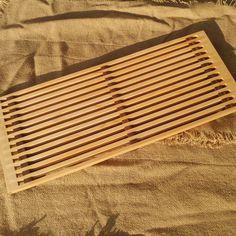 Large Wood Trivet - Hard Maple & Walnut